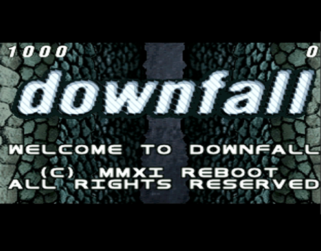Downfall atari screenshot